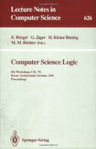 Computer Science Logic, 5 conf., CSL '91