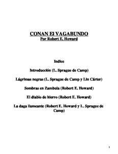 Conan  4  Conan El Vagabundo