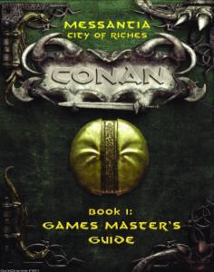 Conan: Messantia--City of Riches (Conan RPG)
