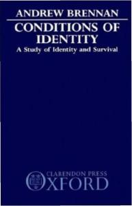 Conditions of Identity: A Study in Identity and Survival