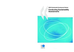 Conducting Sustainability Assessments