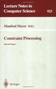 Constraint Processing.. selected papers