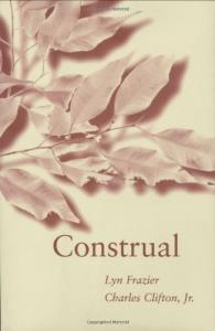 Construal (Language, Speech, and Communication)