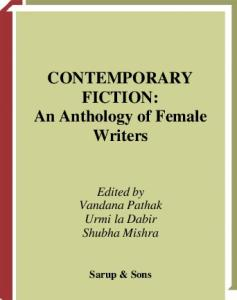 Contemporary Fiction: an Anthology of Female Writers