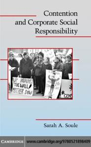 Contention and Corporate Social Responsibility (Cambridge Studies in Contentious Politics)