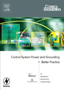 Control System Power and Grounding Better Practice