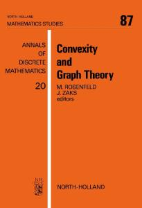 Convexity and Graph Theory