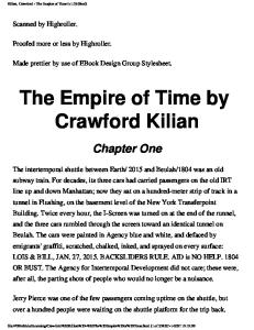 Crawford Killian - The Empire of Time