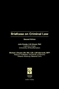 Criminal Law (Briefcase)