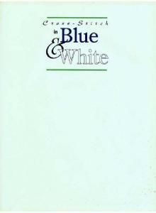 Cross-Stitch in Blue & White