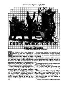 Cross Words For Crooks