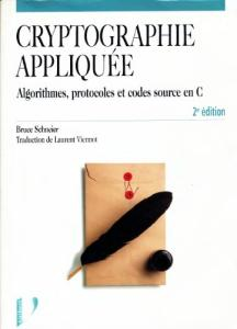 Cryptographie appliquee  French