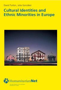 Cultural Identities and Ethnic Minorities in Europe