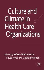 Culture and Climate in Health Care Organisations