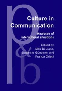 Culture in Communication: Analyses of Intercultural Situations