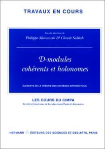 D-modules coherents et holonomes