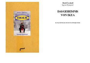 Das Geheimnis Von Ikea Pdf Free Download