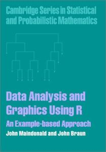 Data Analysis and Graphics Using R -An Example Based Approach