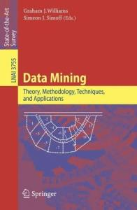 Data Mining: Theory, Methodology, Techniques, and Applications