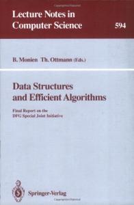 Data Structures and Efficient Algorithms