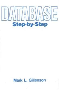 Database: Step-By-Step