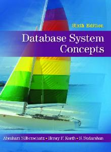 Database System Concepts, 6th Edition