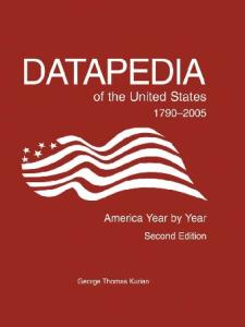 Datapedia of the United States 1790-2005: America Year by Year