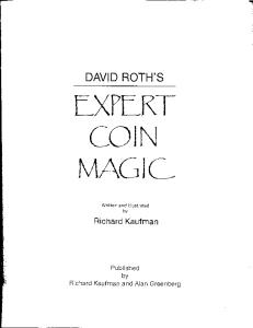 David Roth's Expert Coin Magic