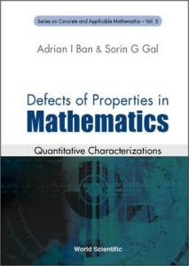 Defects of properties in mathematics. Quantitative characterizations