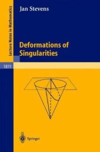 Deformations of singularities