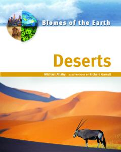 Deserts (Biomes of the Earth)
