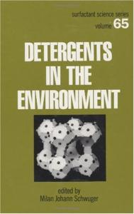 Detergents in the environment