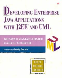 Developing Enterprise Java Applications with J2EE(TM) and UML