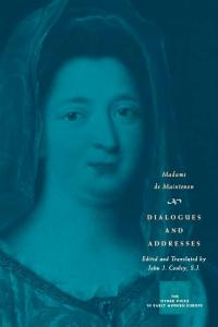 Dialogues and Addresses (The Other Voice in Early Modern Europe)