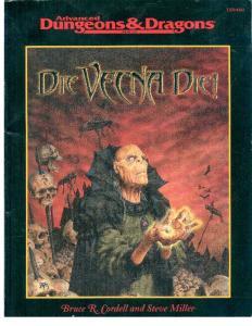 Die, Vecna, Die! (Dungeons & Dragons)