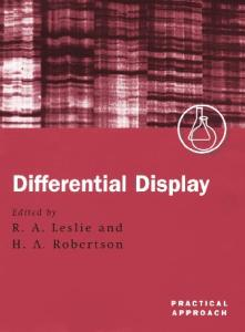 Differential Display: A Practical Approach