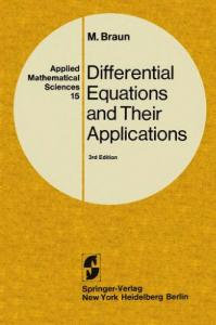 Differential Equations and Their Applications: An Introduction to Applied Mathematics