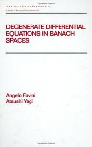 Differential Equations in Banach Spaces