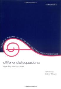 Differential equations: stability and control