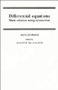 Differential equations. Their solutions using symmetries