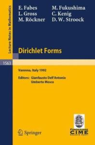 Dirichlet Forms. Lectures 1st Session C.I.M.E., Varenna, Italy