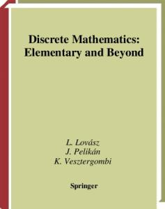 Discrete Mathematics. Elementary and Beyond