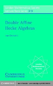 Double affine Hecke algebras
