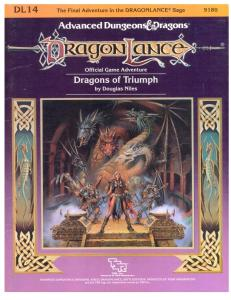 Dragons of Triumph (Advanced Dungeons and Dragons, Module DL14)