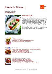 Du liebe Tomate (Kochbuch)