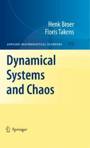 Dynamical systems and chaos
