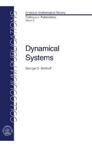 Dynamical Systems (Colloquium Publications)