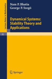 Dynamical Systems: Stability Theory and Applications