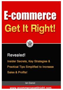 E commerce: Get It Right!