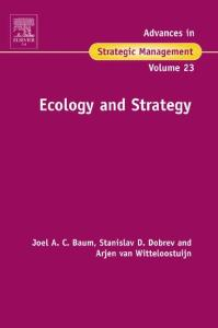 Ecology And Strategy